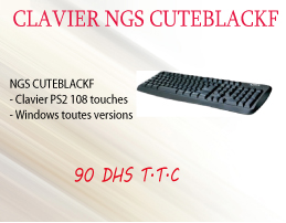 Clavier NGS gutblacker