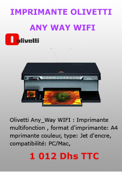 IMPRIMANTE OLIVETTI ANY WAY WIFI